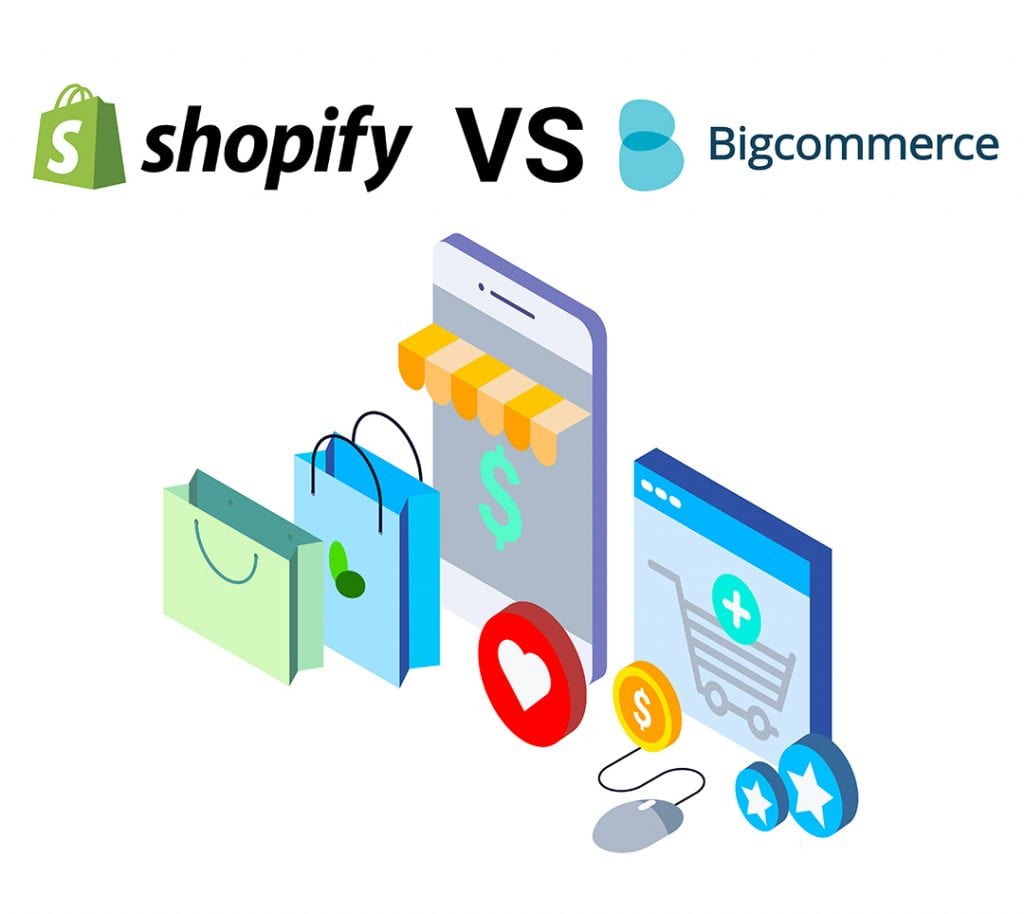 Shopify VS BigCommerce 2018
